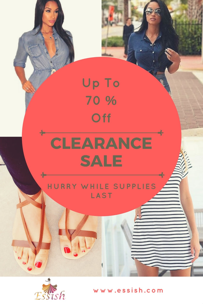 Clearance Items Online- Up To 70% Off