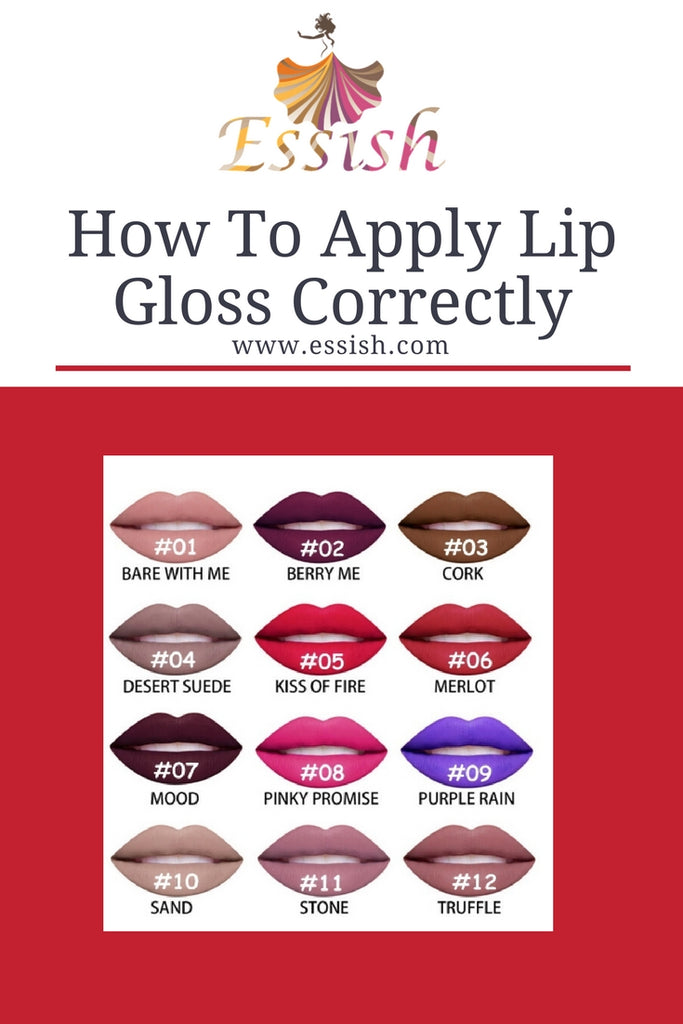How To Apply Lip Gloss Correctly!