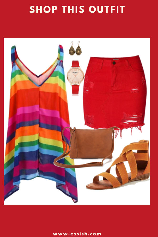 Shop This Stylish Colorful Outfit!