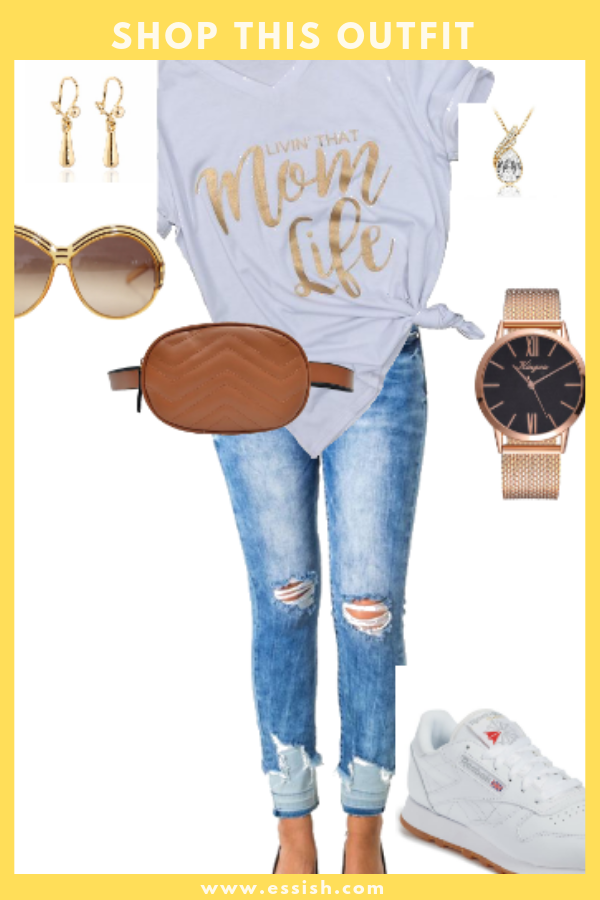 "Shop This ""Mom Life"" Outfit"