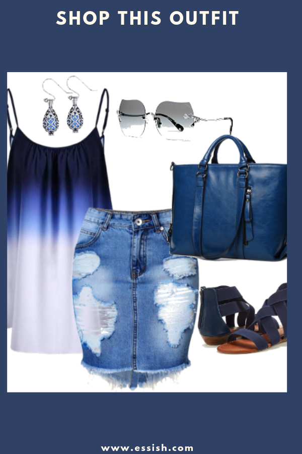 Shop This Stylish Blue Outfit