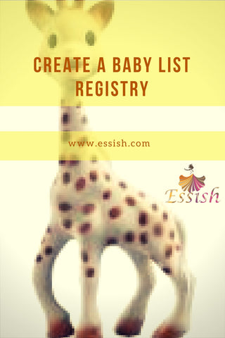 Create A Baby List Registry