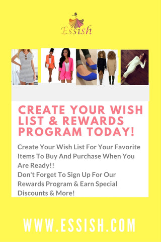 Create Your Wish List Today