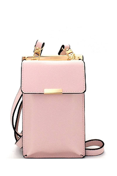 Cellphone and card holder cross body bag