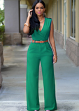 New V Cut Rompers Women Jumpsuit Summer Bodycon Jumpsuit Playsuits Women Clothing