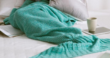 Mermaid Tail Blanket Adult/Child/Baby Mermaid Blanket Knit Cashmere Sofa Blanket