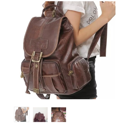 Backpack,Vintage Brown Leather Backpack