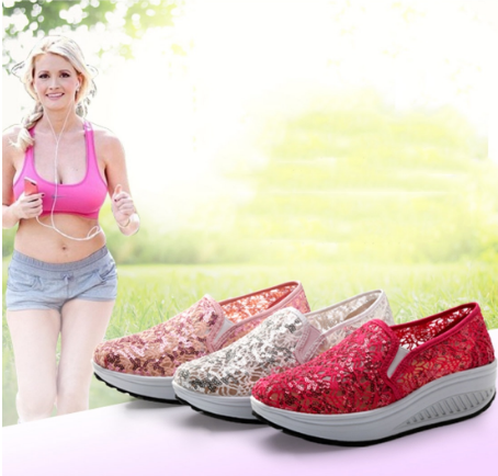 Fashion Women Trifle Casual Breathable Mesh Running Shoes Summer Sandals