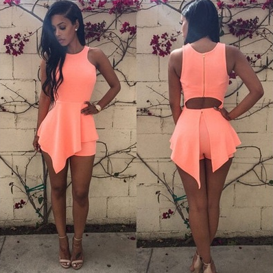 Sexy Womens Lady Summer Beach Sleeveless Bodycon Party Evening Short Mini Dress