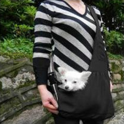 Pet Carrier Bag Oxford Cloth Dog Cat Carrier Single Shoulder Bag Black