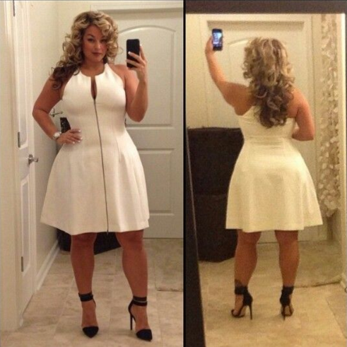 Sexy looks for plus size women