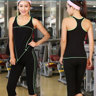 Women Yoga Sets Tank Tops Sports