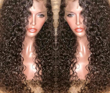 Full Lace Brazilian Remy Human Hair Pre Plucked With Baby Hair Glueless Full Lace Wigs