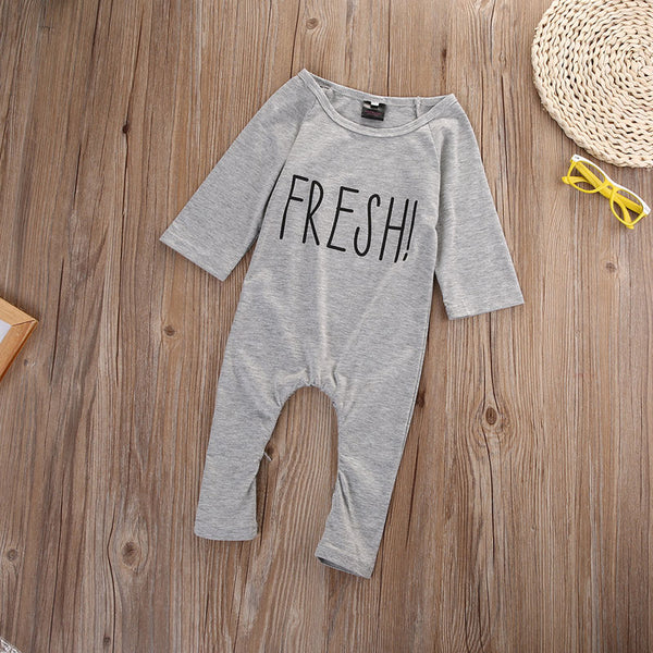 Newborn Toddler Baby Boy Girl Clothes Fashion Romper Long Sleeve Cotton Jumpsuit Baby Girls Clothing Outfits