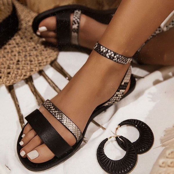 Women's Fashion Rhinestone Sandals-- Available In Multiple Colors