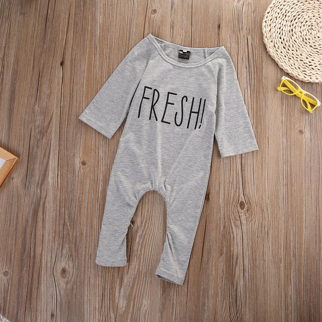e78e31cb927c7 Newborn Toddler Baby Boy Girl Clothes Fashion Romper Long Sleeve Cotton  Jumpsuit Baby Girls Clothing Outfits