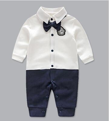 1aedd2da9 Baby Rompers Cartoon Baby Clothes Cotton Long Sleeve Kids Jumpsuits ...