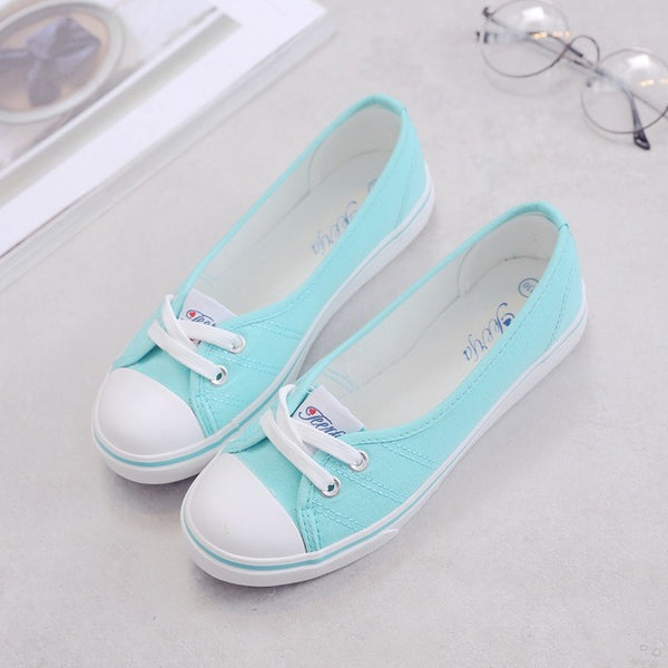 Women Canvas Comfortable Slip-on Shoes