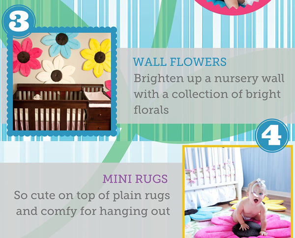 0-1 Years Newborn Baby Flower Pillow Soft Lotus Shape Foldable Cushion Sunflower Infant Blooming Mat For Boys Girls