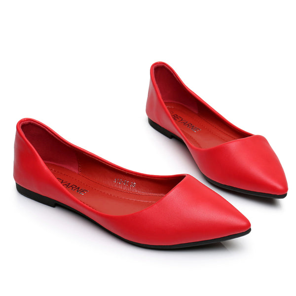 Womens Shoe Woman Genuine Leather Flat Shoes Fashion Hand-sewn Leather Loafers