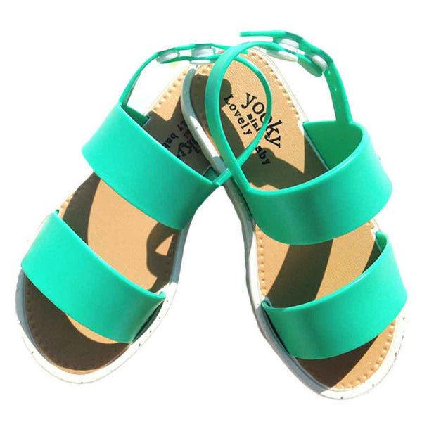 Summer Fashion Sandals Kids Girls Jelly Party Princess Casual Beach Shoes Baby Shoes