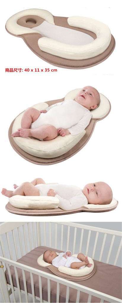 Newborn Baby Sleeping Defensive Head Stereotypes Pillow For Bed Kids  Shaping Pillow To Prevent Children To Turn The Mattress
