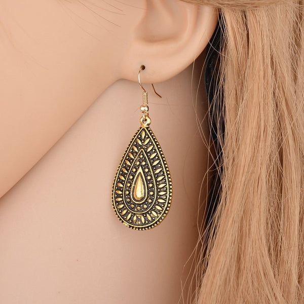 Bohemia Vintage Fashion Drop Earrings