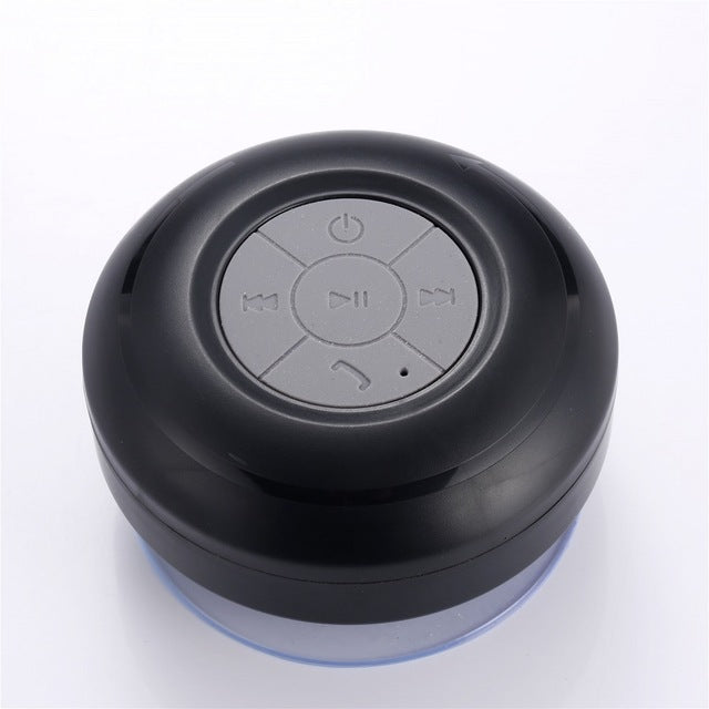 Portable Waterproof Shower Speakers  Bluetooth Handsfree Receive Call Music Suction Mic For iPhone Wireless Subwoofer Speaker