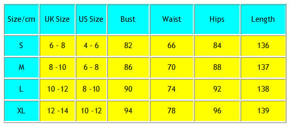 Women Formal Dresses Long Evening Party Ball Prom Gown Chiffon Dress