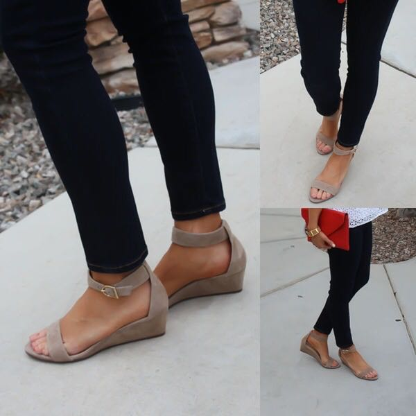 Summer Open Toe Casual Wedge Women Sandals