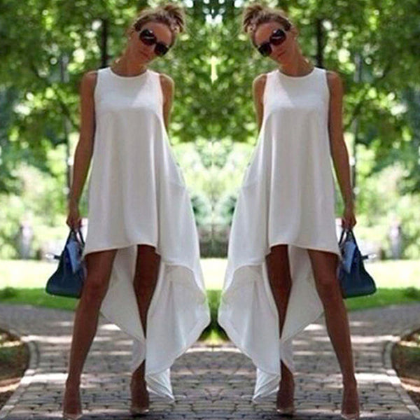 Women Summer Boho Long Maxi Dress Evening Party Beach Dresses Sundress