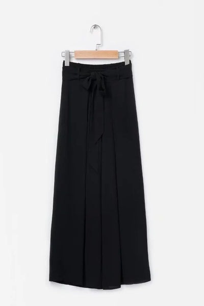 Boho Solid Women Wide Leg Pants Summer Sexy Split Long Pant High Waist Casual Beach Female Trousers