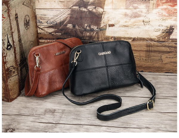 Trendy Leather Lady Messenger Bag