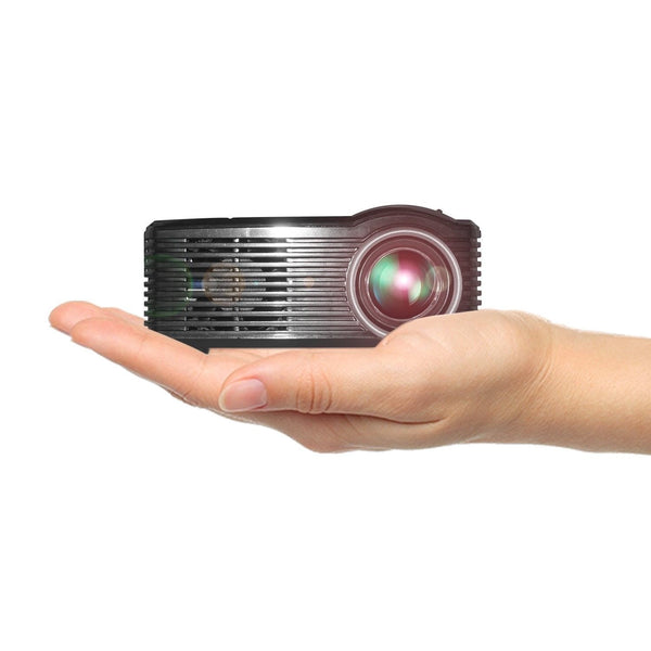 Video Projector LED Projector Portable Home Cinema Theater Mini Projector USB/SD/AV Port Manual Focus