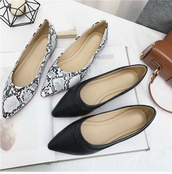 Women Elegant Pointed Toe Flats