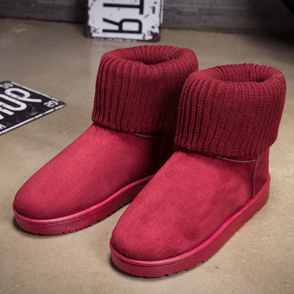 Women Ankle Winter Women Snow Warm Boots-7 Colors Available