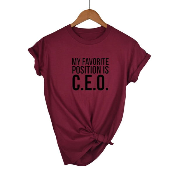 CEO Girl Boss Short Sleeve T-shirt