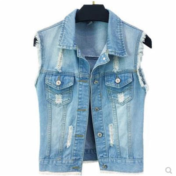 Women Denim Vests