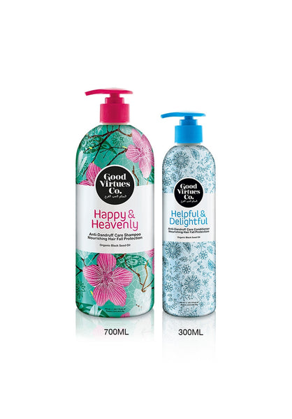 Good Virtues Co Anti Dandruff Shampoo and Conditioner