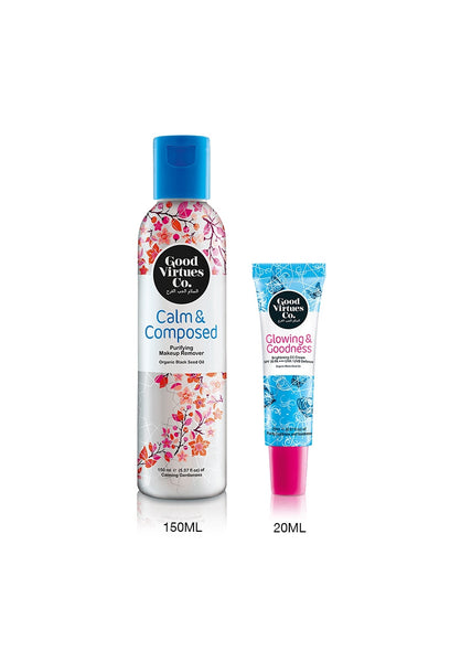 Good Virtues Co M+Up Remover + CC Cream