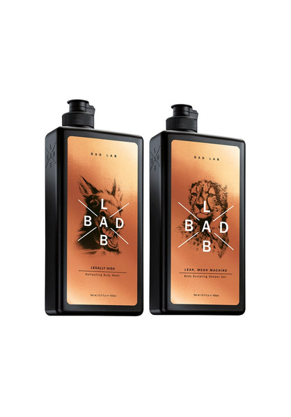 Bad Lab Refreshing (400ml)+Sculpting Shower Gel (400ml)