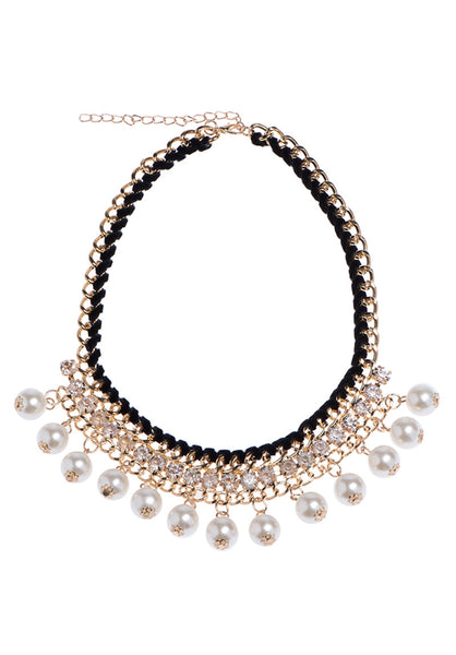 Mi&Ler Cute Pearl Layered Necklace
