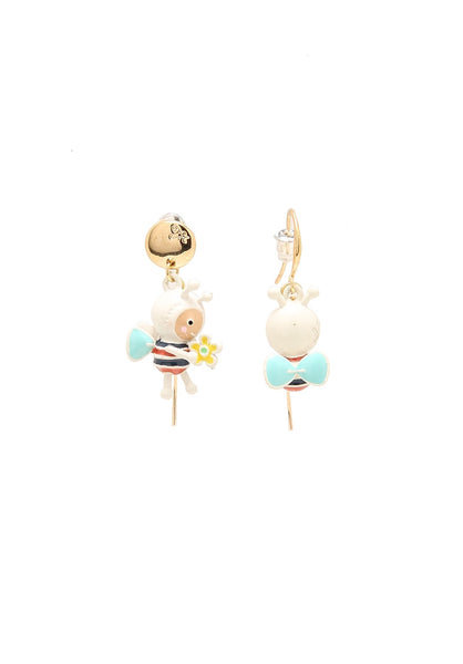 Mi&Ler Sweet Little Bee Earrings
