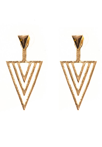 Deraine Triangle Earrings