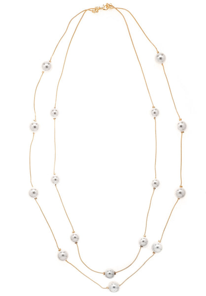 Deraine Pearl Long Neckalce