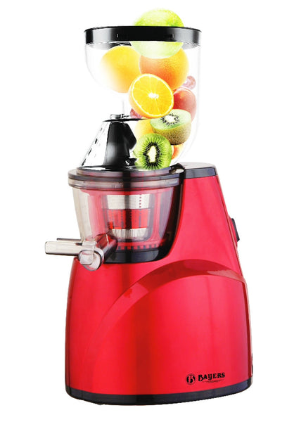 Bayers - Whole Fruit Slow Juicer SJ-25 - with extra wide mouth (3+ inches / 85mm)