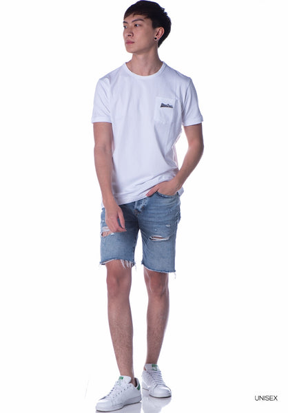 Basic Pocket Tee (White)