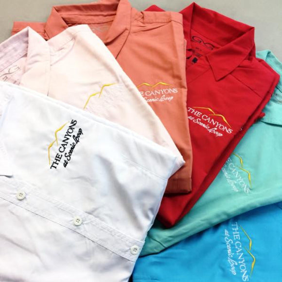Company Fishing Shirts | Embroidered with Brand Logo