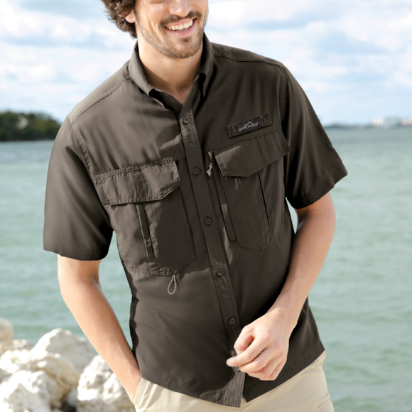 Eddie Bauer Fishing Shirts | Embroidered with Brand Logo