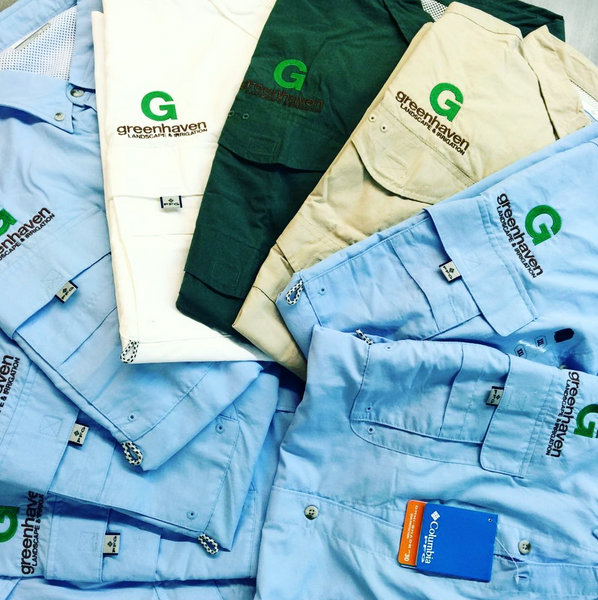 Columbia PFG Fishing Shirts